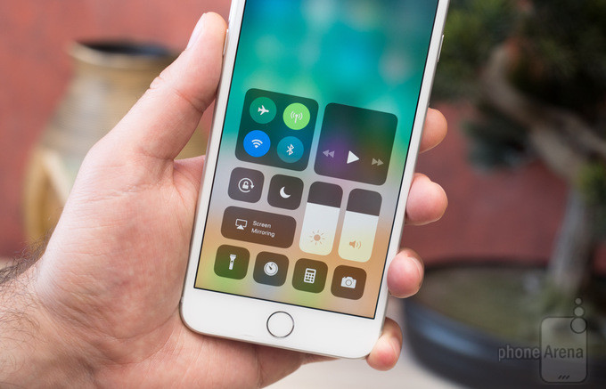 iOS 11's Control Center brings major changes