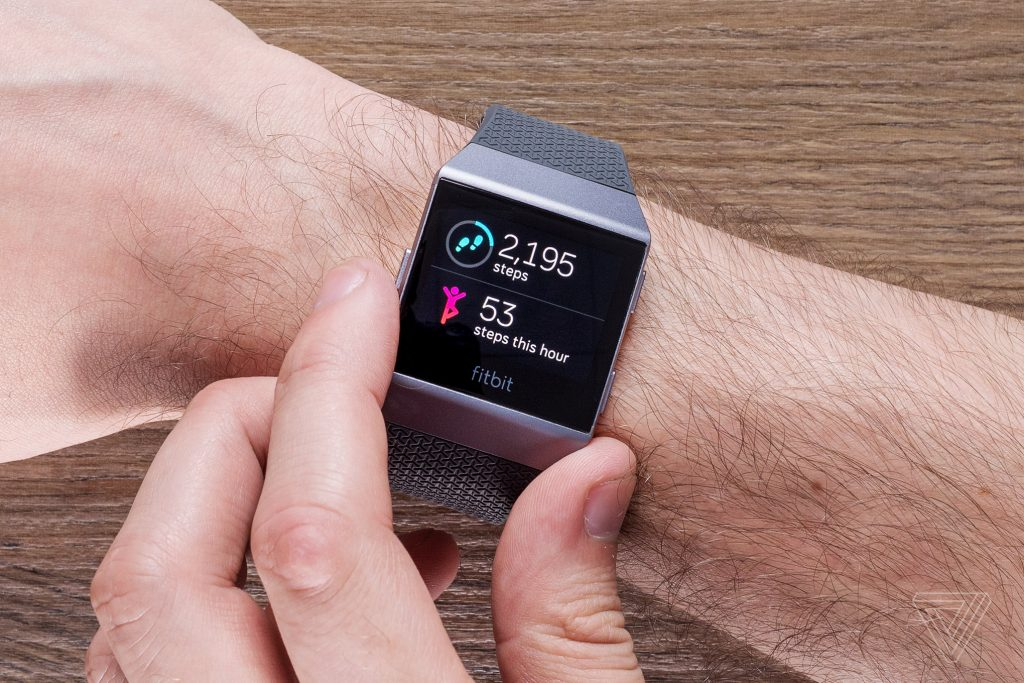 Fitbit launches first smartwatch